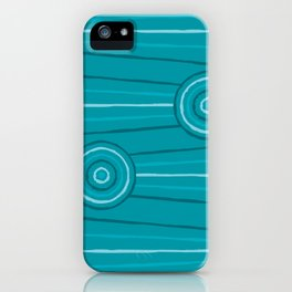 Reef Line Painting iPhone Case