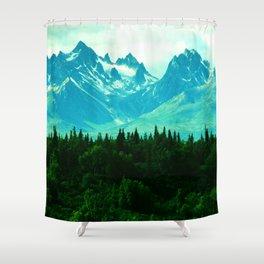 Adventure Mountain Shower Curtain