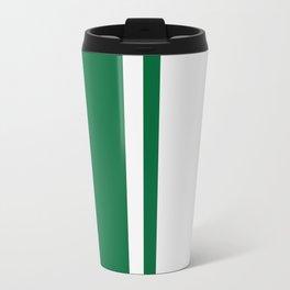 Green Racer Travel Mug