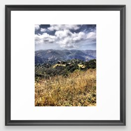 Topanga Canyon Framed Art Print