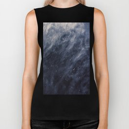Blue Clouds, Blue Moon Biker Tank