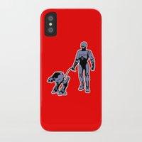 robocop iPhone & iPod Cases featuring Robocop by dutyfreak
