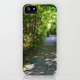 Point Pelee National Park Trails in  Leamington, Ontario, Canada iPhone Case