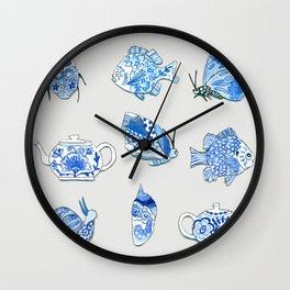 Brave Snail Wall Clock