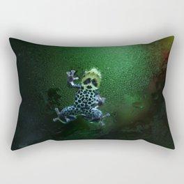 Poison Dart Frog R. Imitator Belly Rectangular Pillow