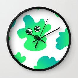 Scary Jelly Wall Clock
