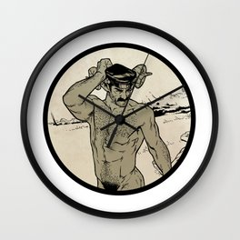 Tom of Faunland Wall Clock