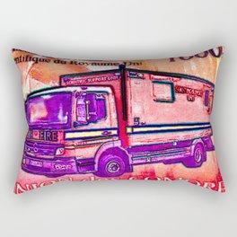 Classic Commercial Motor Vehicle Rectangular Pillow