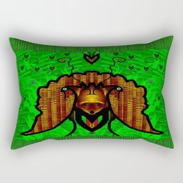 Animals in the fantasy forest Rectangular Pillow