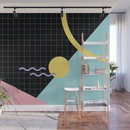 Memphis Pattern 7 - 80s - 90s - Retro Wall Mural