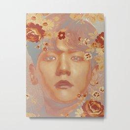 Honey Ink | Baekhyun Metal Print