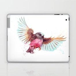 Pink Robin Bird Laptop & iPad Skin