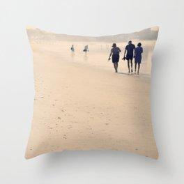 beach life Throw Pillow