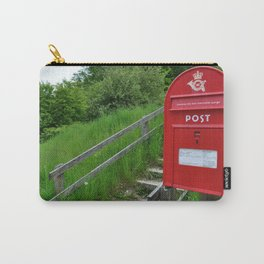 Post Box in Danish Countryside Carry-All Pouch