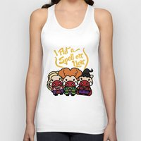 hocus pocus Tank Tops featuring Hocus Pocus by worldboar