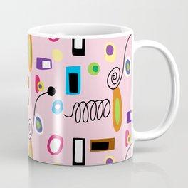 Mod Abstract Pink Coffee Mug
