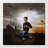 video games Canvas Prints featuring video games by Oliver Charles
