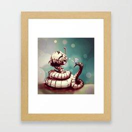Whoabot Framed Art Print