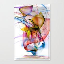 Structur World by Nico Bielow Canvas Print