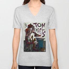Tom Waits Unisex V-Neck