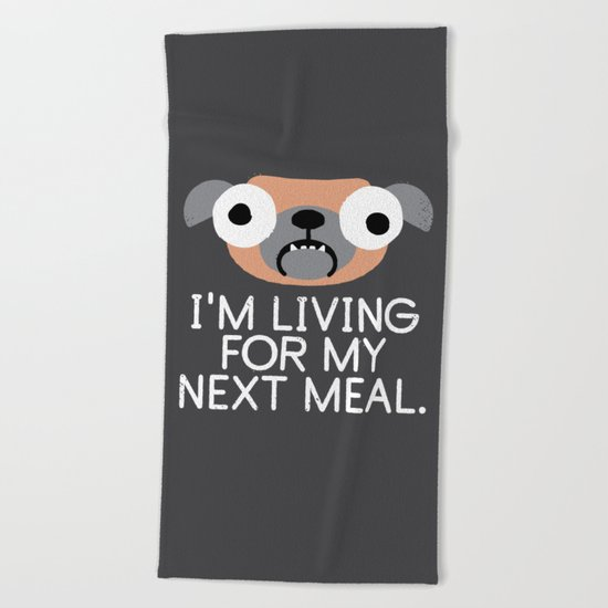 Stay Hungry Beach Towel