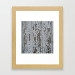 old wood Framed Art Print