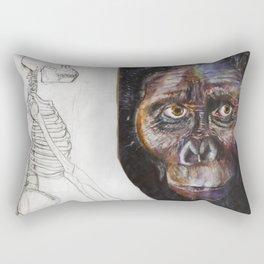 Australopithecus Rectangular Pillow
