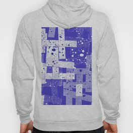 Abstract in blue Hoody