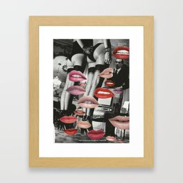 Kiss This Framed Art Print