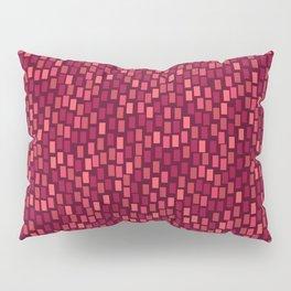 MOSAICS: RED WINE Pillow Sham