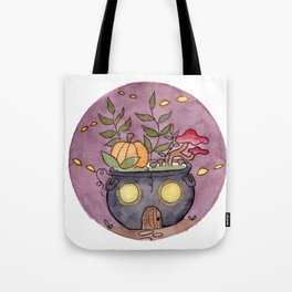 In The Garden: October Tote Bag