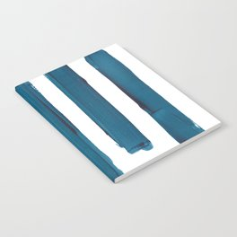 Indigo Stripes Notebook