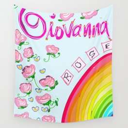 Giovanna Rose Wall Tapestry
