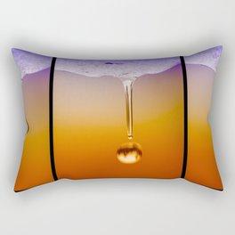 Snow Melt Rectangular Pillow