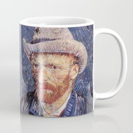 Self-Portrait with Grey Felt Hat by Vincent van Gogh Coffee Mug