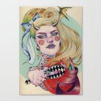 devil Canvas Prints featuring Devil. by Izuru  Kumo
