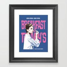 Breakfast at Tiffany's Movie Poster Framed Art Print
