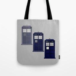 The Materializing TARDIS Tote Bag