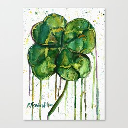 Run O' Luck Canvas Print
