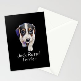 Dog Jack Russell Terrier dog lover Stationery Cards