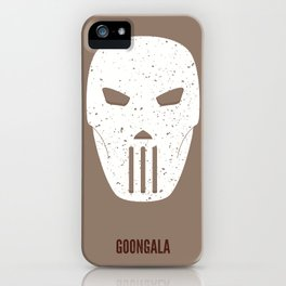Casey Jones - Goongala iPhone Case