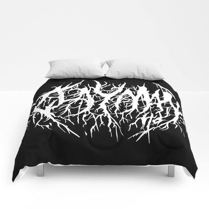 Black Rain Comforters