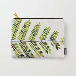 Green Leaflets Carry-All Pouch