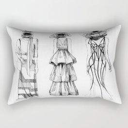 Foul Mouths Rectangular Pillow
