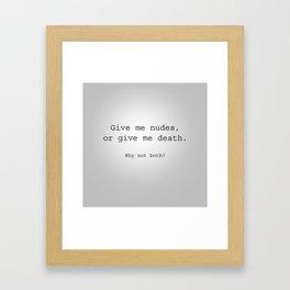 Nudes Framed Art Print