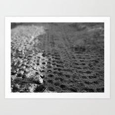 Tread 2015 B/W Art Print