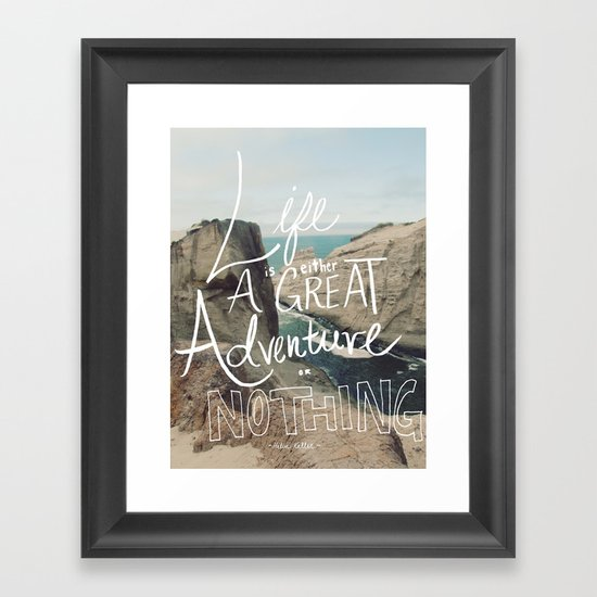 Great Adventure Framed Art Print