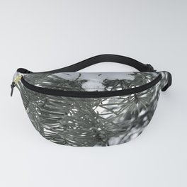 Snow Covered Pine Tree Fanny Pack