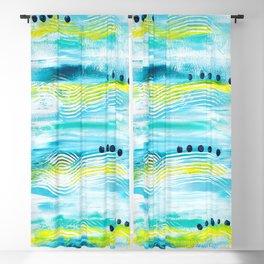 Blue Wave Blackout Curtain