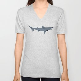 Origami Shark Unisex V-Neck